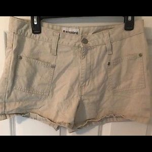 No Boundaries Juniors Khaki Tan Beige Shorts 11